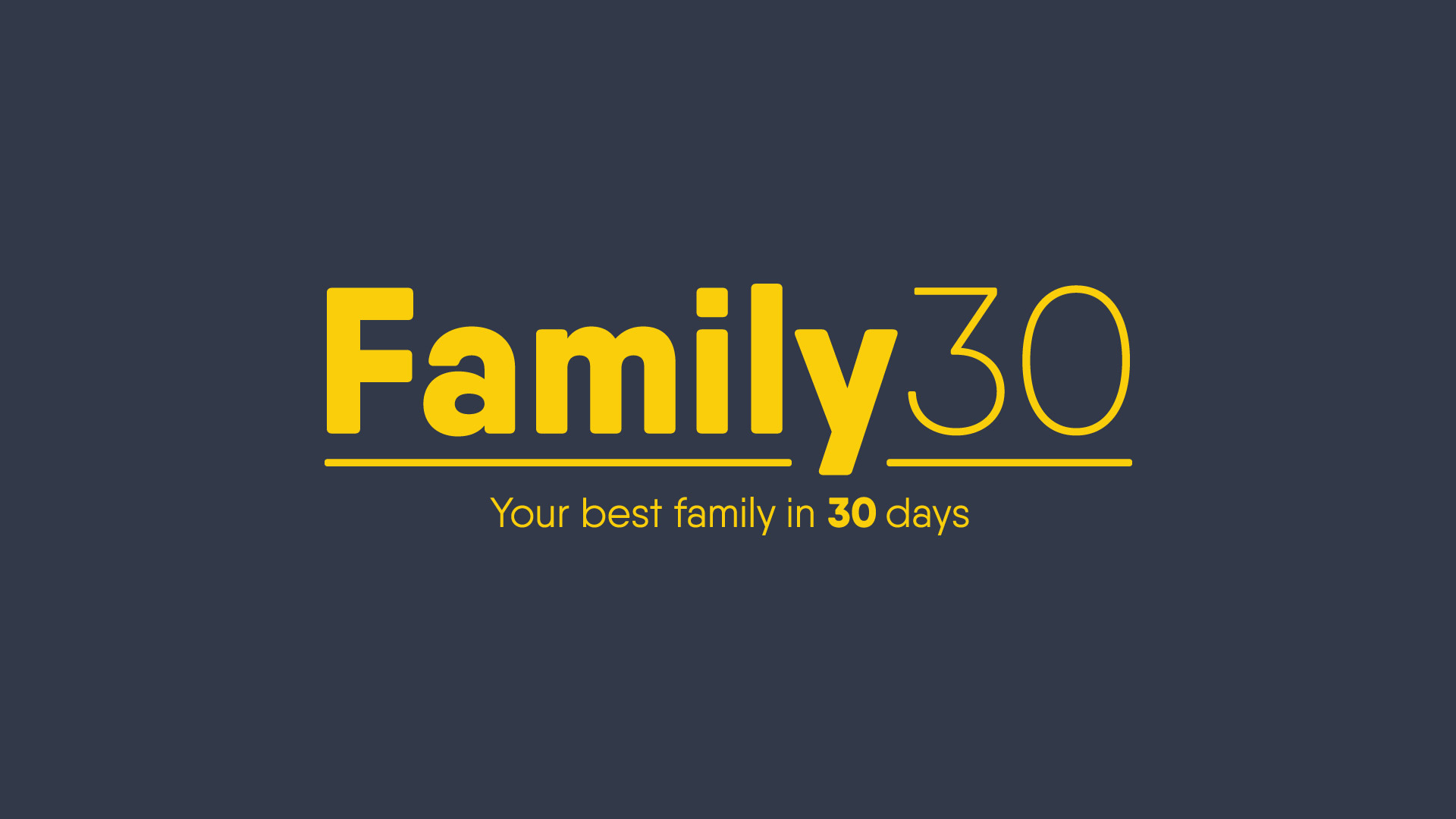 Family 30: Parenting Like A Pro-Part 2